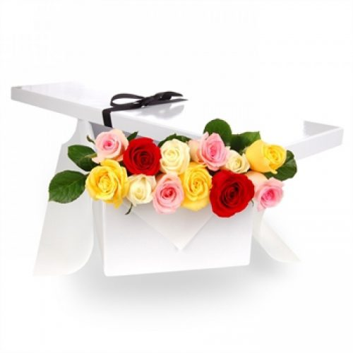 Mix Roses In a Box